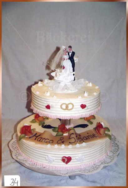 Hochzeitstorte Nr. 34