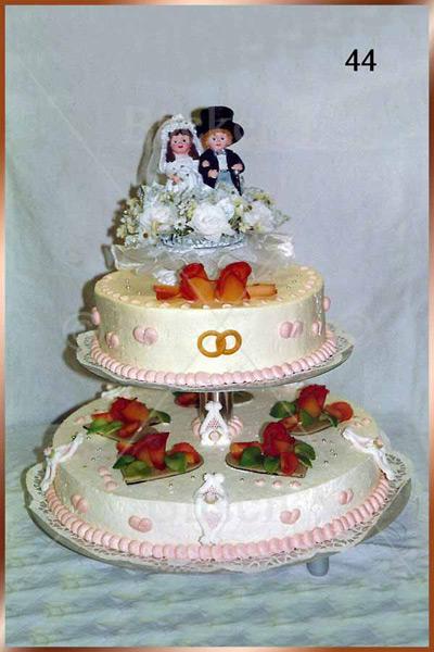 Hochzeitstorte Nr. 44
