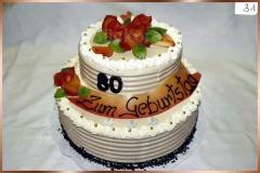Geburtstagstorte Nr. 31