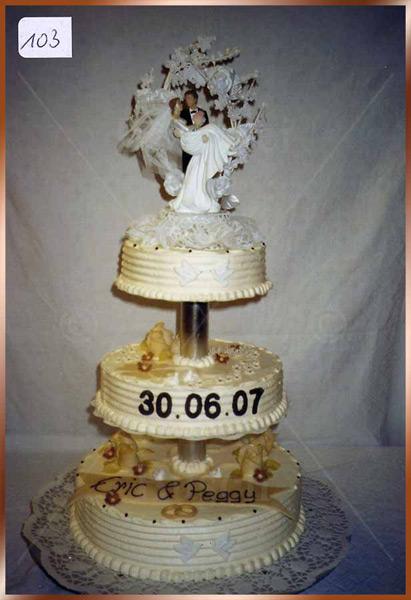 Hochzeitstorte Nr. 103