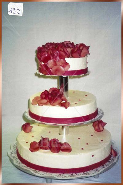 Hochzeitstorte Nr. 130