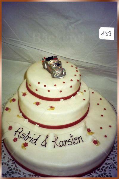 Hochzeitstorte Nr. 139