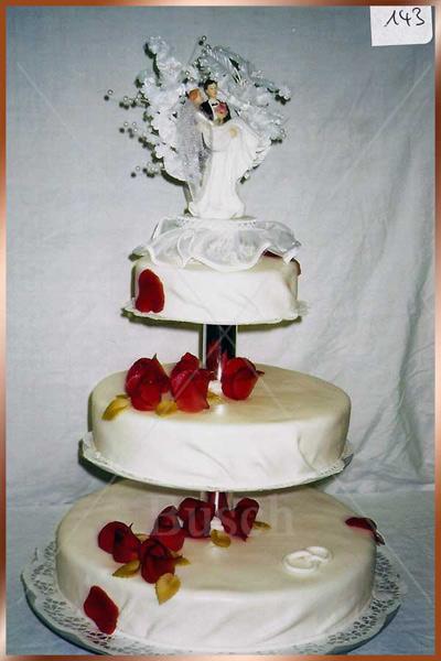 Hochzeitstorte Nr. 143