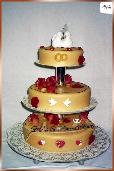 Hochzeitstorte Nr. 146