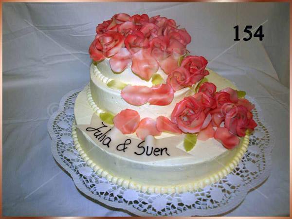 Hochzeitstorte Nr. 154