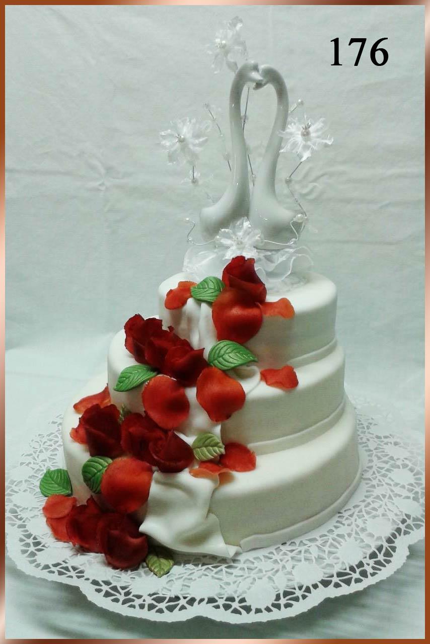 Hochzeitstorte Nr. 176
