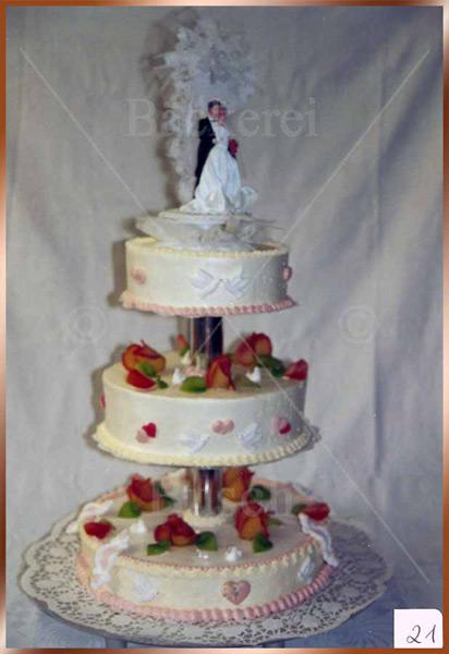 Hochzeitstorte Nr. 21