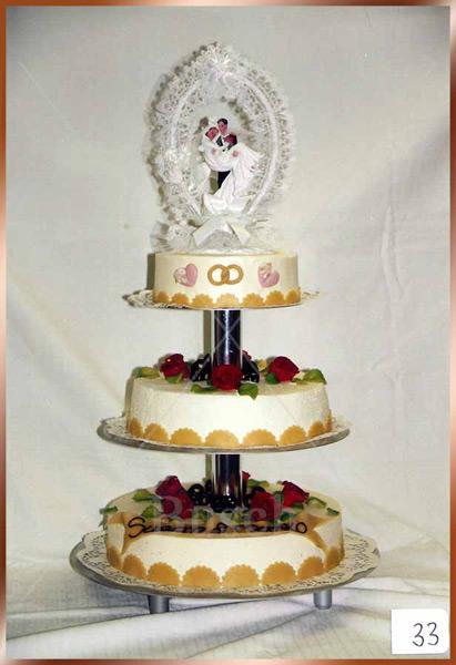 Hochzeitstorte Nr. 33