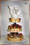 Hochzeitstorte Nr. 47