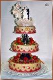 Hochzeitstorte Nr. 61
