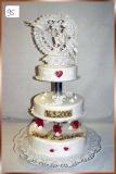 Hochzeitstorte Nr. 95