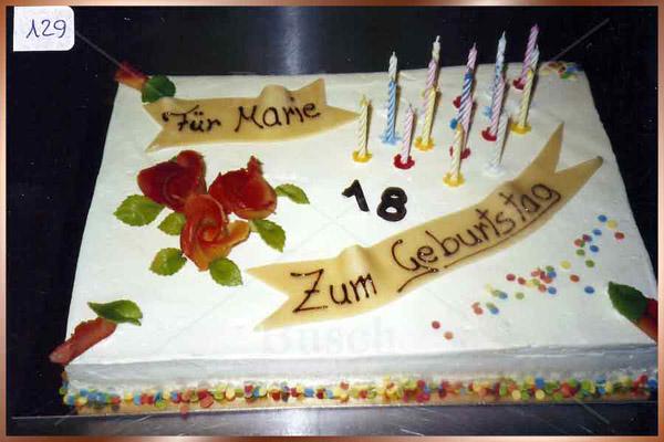 Geburtstagstorte Nr 129