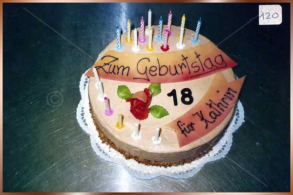 Geburtstagstorte Nr. 120