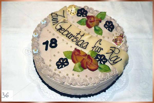 Geburtstagstorte Nr. 36