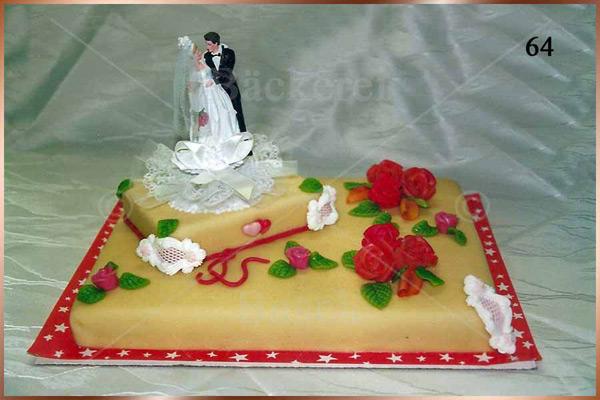 Hochzeitstorte Nr. 64