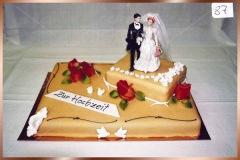 Hochzeitstorte Nr. 87