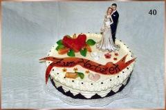 Hochzeitstorte Nr. 40